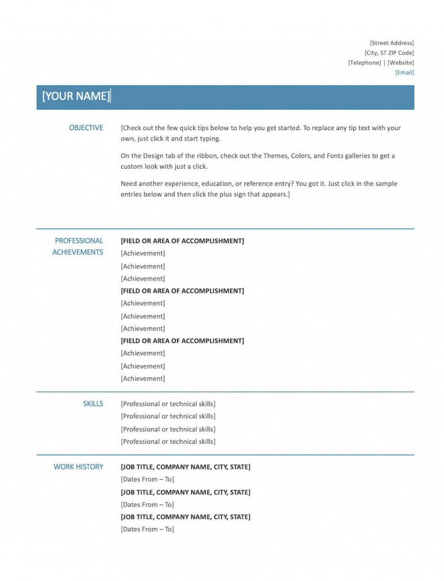 009 Wondrou Skill Based Resume Template Word Idea  Microsoft868