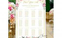 009 Wondrou Wedding Seating Chart Template Sample  Templates Plan Excel Word Microsoft