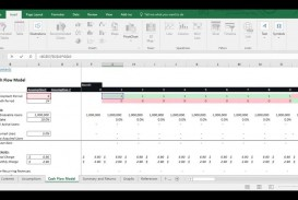 010 Amazing Cash Flow Template Excel Free Idea  Statement Download Format In