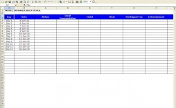 010 Amazing Excel Busines Travel Expense Template Inspiration