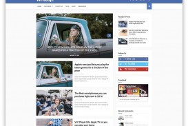 010 Archaicawful Download Free Responsive Blogger Template Example  Newspaper - Magazine Premium