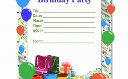 010 Archaicawful Microsoft Word Birthday Card Invitation Template Example