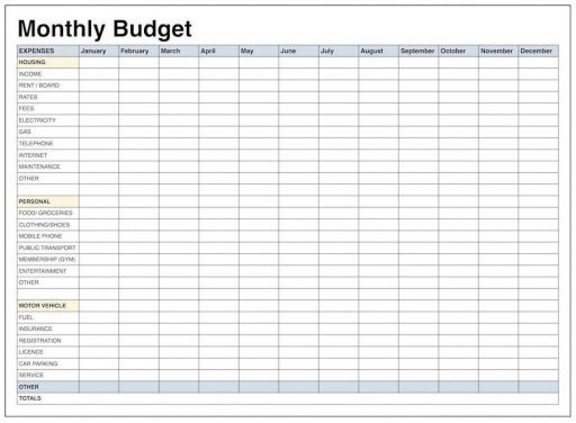 010 Archaicawful Monthly Household Budget Template Free Uk Image 1920