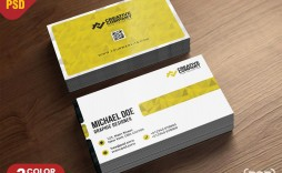 010 Archaicawful Simple Busines Card Template Photoshop Example