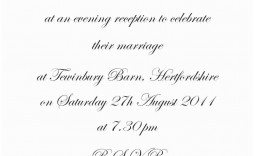 010 Astounding Formal Wedding Invitation Template Highest Quality  Templates Email Format Wording Free