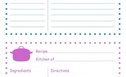 010 Awesome 4 X 6 Recipe Card Template Microsoft Word Highest Quality
