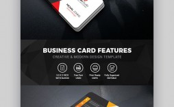 010 Awesome Blank Busines Card Template Psd Free Download Idea  Photoshop