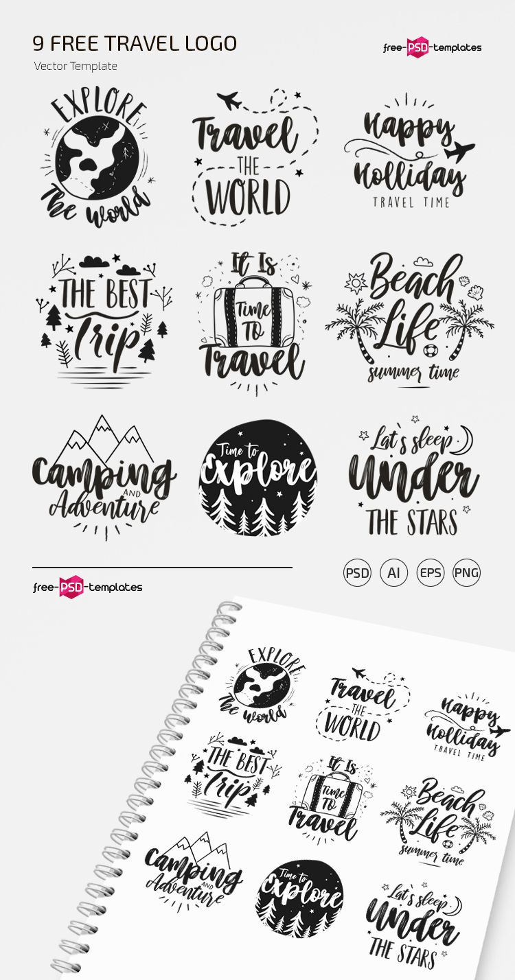 010 Awesome Free Logo Template Psd High Resolution  Photoshop MockupFull