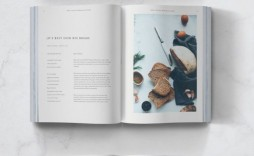 010 Awesome Free Recipe Book Template Example  Editable Cookbook For Microsoft Word Indesign