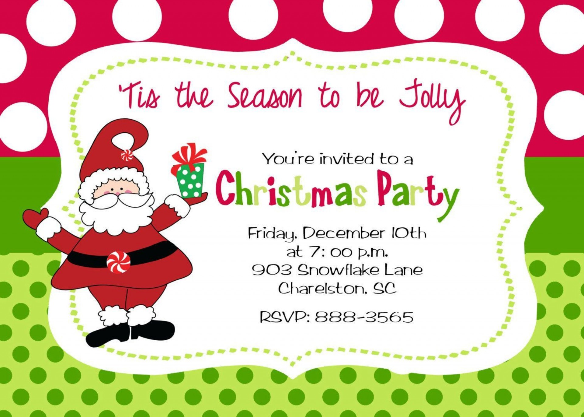 010 Awful Christma Party Invite Template Word High Resolution  Holiday Free Invitation Wording Example1920