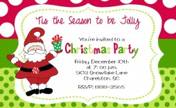 010 Awful Christma Party Invite Template Word High Resolution  Holiday Free Invitation Wording Example