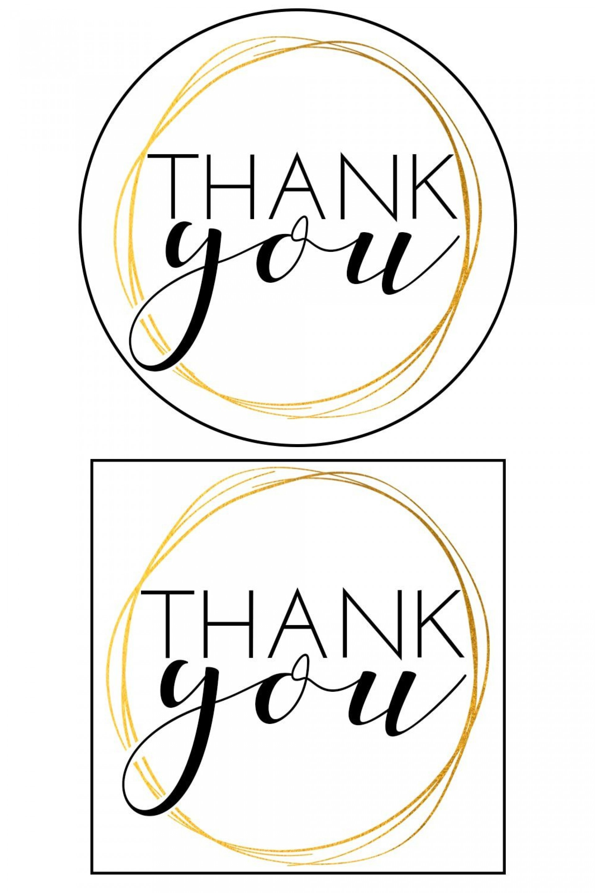 010 Awful Free Printable Thank You Gift Tag Template Sample  Templates1920