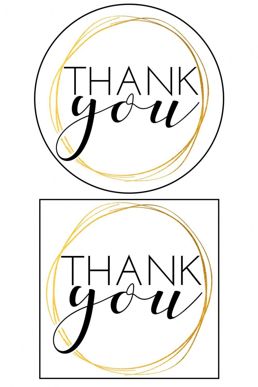 010 Awful Free Printable Thank You Gift Tag Template Sample  Templates