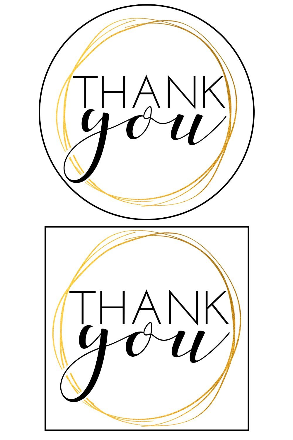 010 Awful Free Printable Thank You Gift Tag Template Sample  TemplatesFull