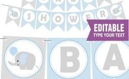 010 Best Free Baby Shower Printable Elephant Highest Quality  Decoration