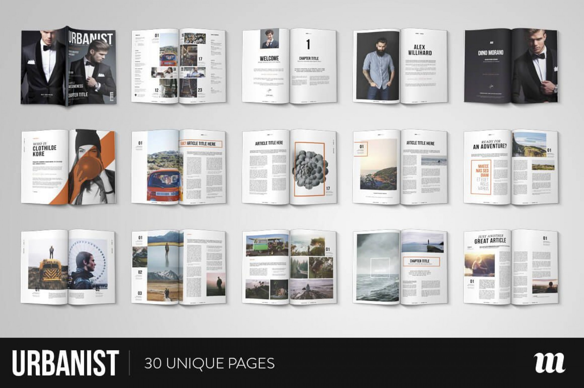 010 Best Free Magazine Layout Template High Resolution  Templates For Word Microsoft Powerpoint1920