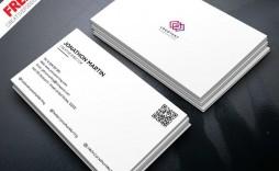 010 Best Minimalist Busines Card Template Psd Free High Resolution