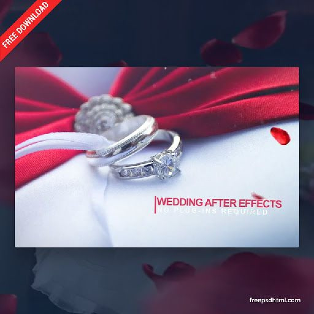 010 Breathtaking After Effect Wedding Template High Resolution  Templates Free Download Cc InvitationLarge
