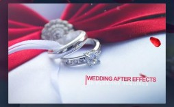 010 Breathtaking After Effect Wedding Template High Resolution  Templates Free Download Cc Invitation