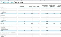 010 Breathtaking Projected Income Statement Excel Format Highest Clarity