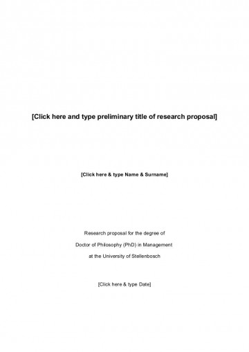 010 Breathtaking Research Paper Proposal Example Chicago 360