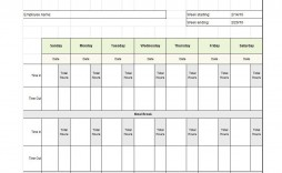 010 Dreaded Employee Time Card Form Photo  Timesheet Template Excel Sheet Free