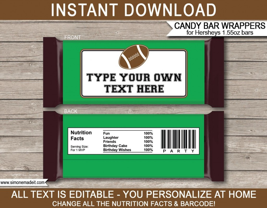 010 Dreaded Hershey Candy Bar Wrapper Template High Definition  Free WordLarge