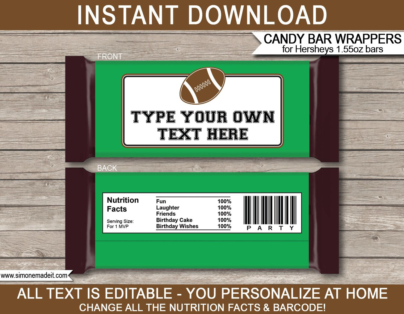 010 Dreaded Hershey Candy Bar Wrapper Template High Definition  Free WordFull