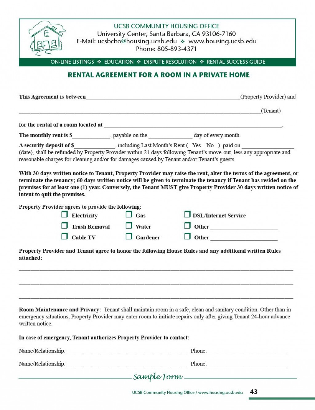 010 Dreaded Room Rental Agreement Template Alberta High Definition Large