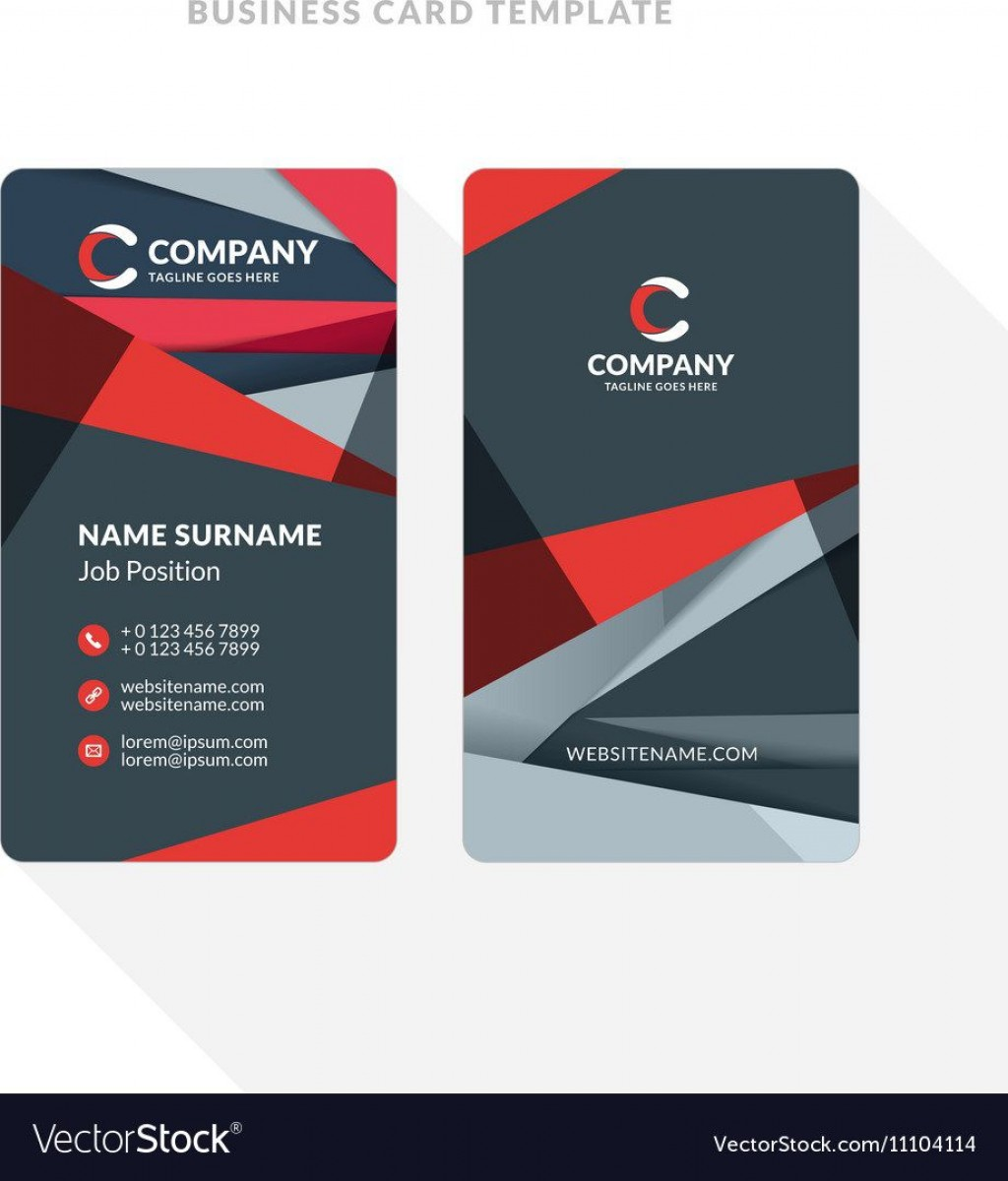 010 Excellent Double Sided Busines Card Template Sample  Templates Word Free Two MicrosoftLarge