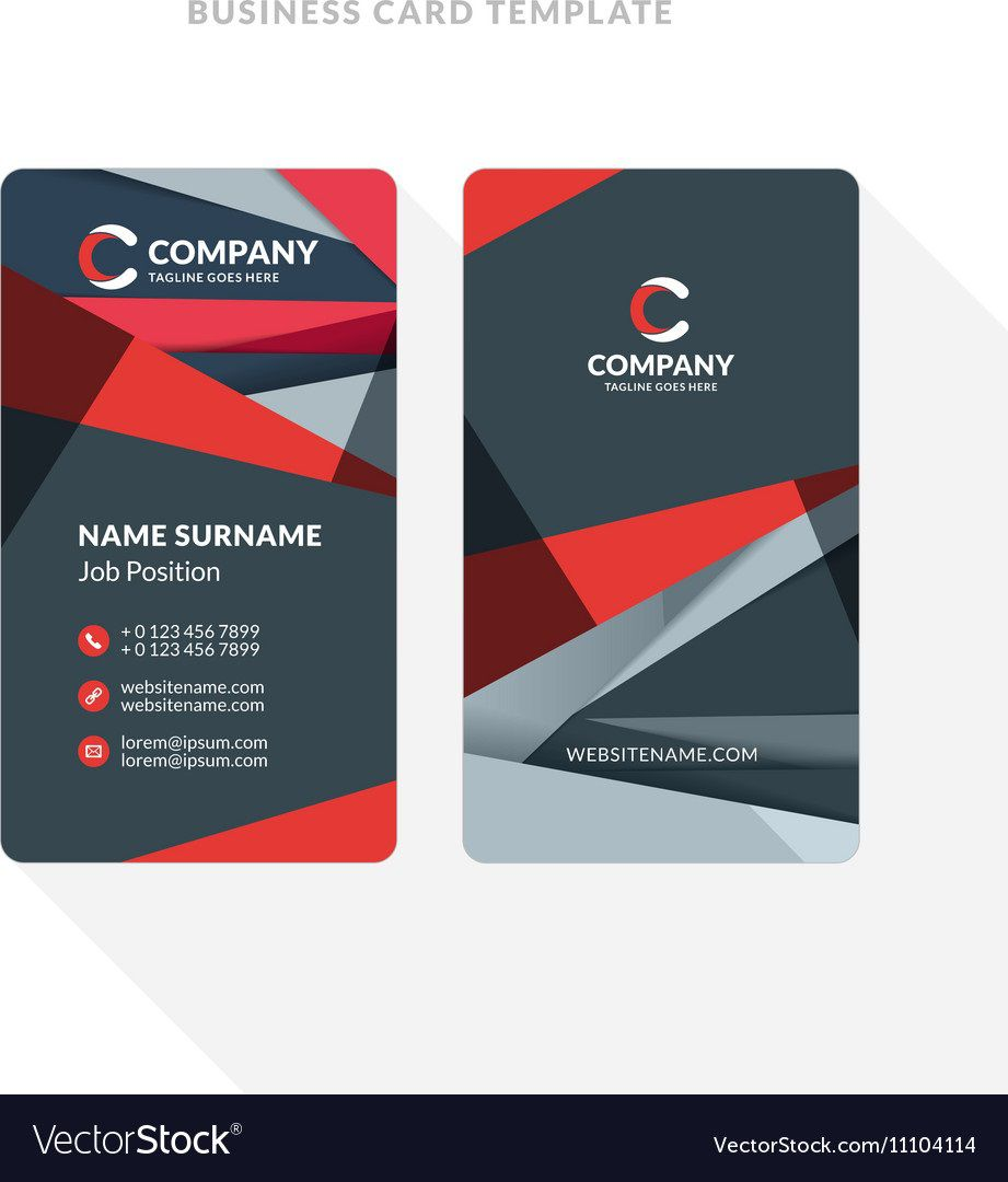 010 Excellent Double Sided Busines Card Template Sample  Templates Word Free Two MicrosoftFull