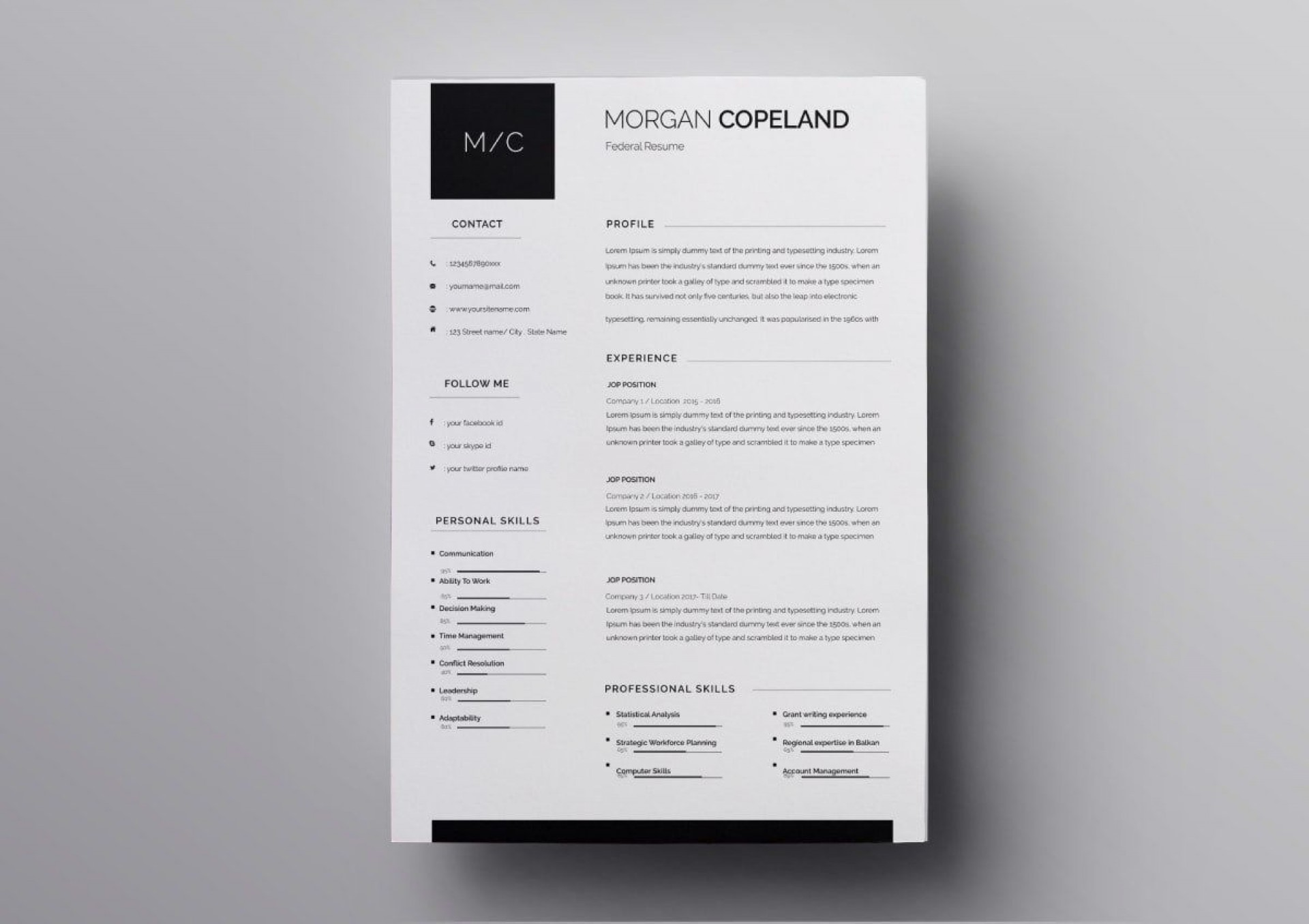 010 Excellent Download Resume Template Free Mac Sample  For1920