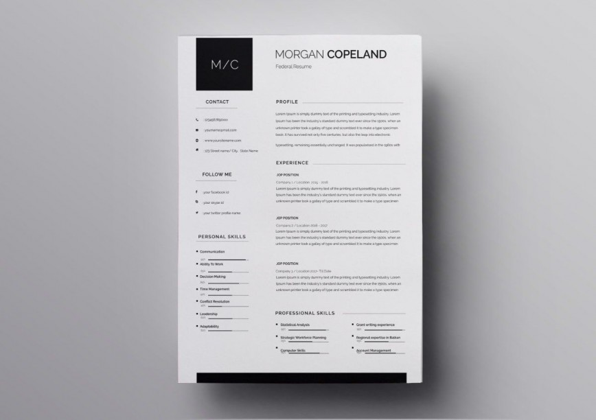 010 Excellent Download Resume Template Free Mac Sample  For