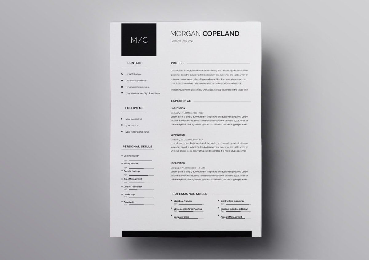010 Excellent Download Resume Template Free Mac Sample  ForFull
