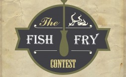 010 Excellent Fish Fry Flyer Template Picture  Printable Free Powerpoint Psd