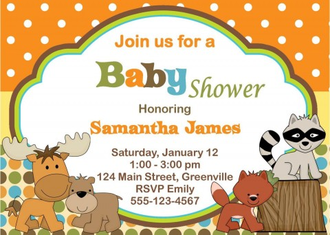 010 Excellent Free Baby Shower Card Template For Word Picture 480