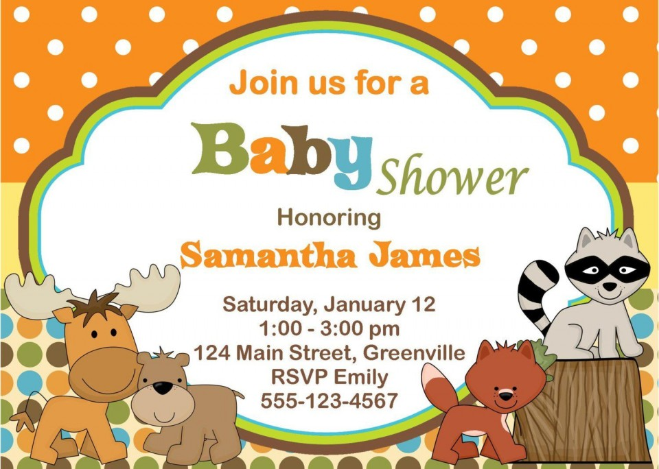 010 Excellent Free Baby Shower Card Template For Word Picture 960