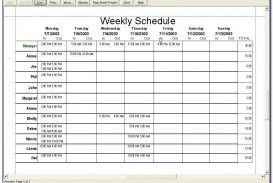 010 Exceptional Free Excel Staff Schedule Template Example  Monthly Employee Shift Holiday Planner Uk