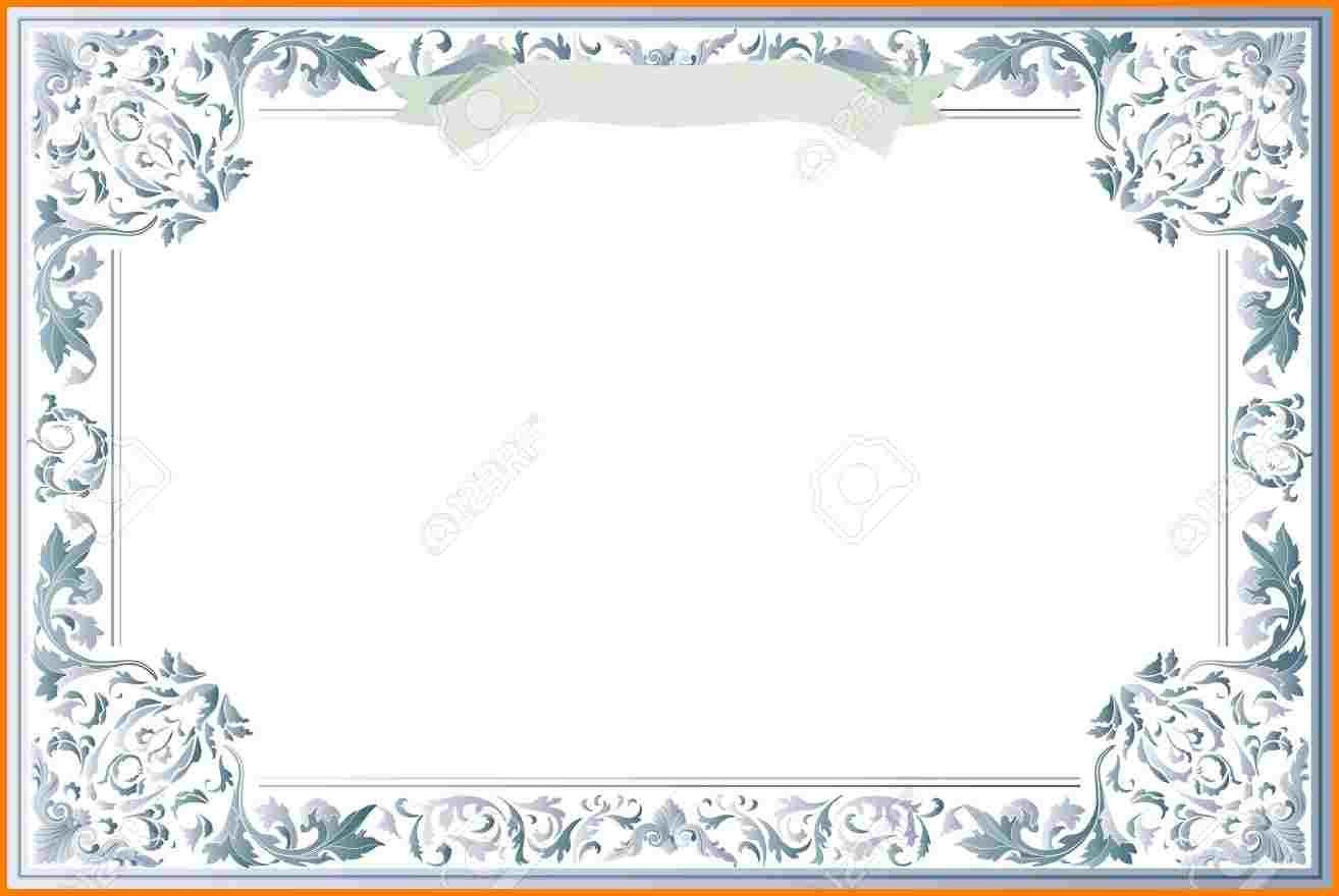 010 Exceptional Free Printable Blank Certificate Template Design  Templates Gift Of AchievementFull