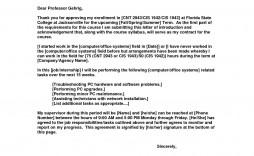 010 Exceptional Letter Of Understanding Format Idea  Sample Memorandum