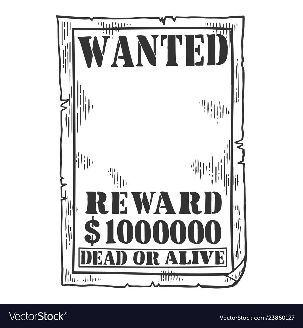 010 Exceptional Wanted Poster Template Pdf Concept  Free CharacterFull