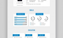 010 Fantastic Free Html Resume Template Design  Html5 Best Cv Desmond / Download