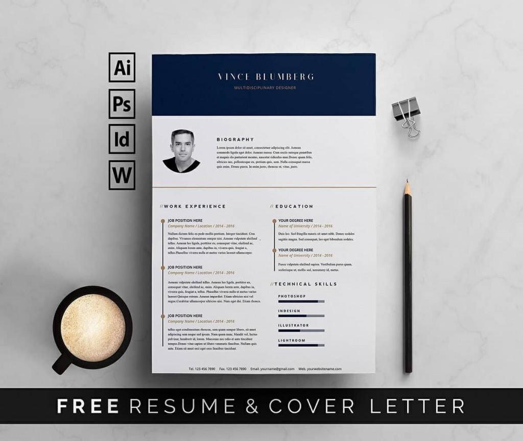 010 Fantastic Resume Template Word Free Download 2018 Example  Modern CvLarge