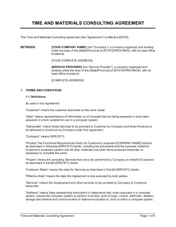 010 Fantastic Simple Consulting Agreement Template Image  Service Uk Free360