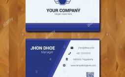 010 Fantastic Simple Visiting Card Design High Definition  Busines Idea Psd File Free Download