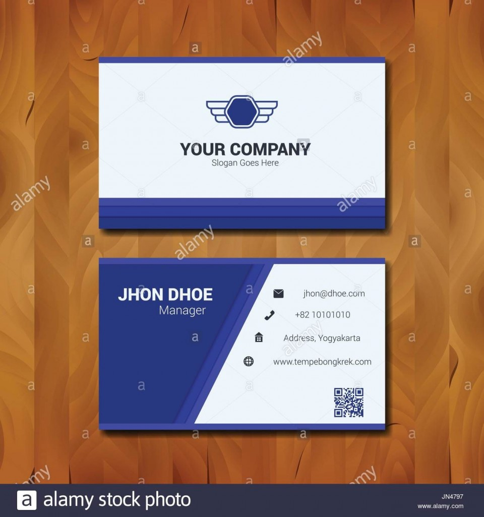 010 Fantastic Simple Visiting Card Design High Definition  Calling Busines Template Free In Photoshop960