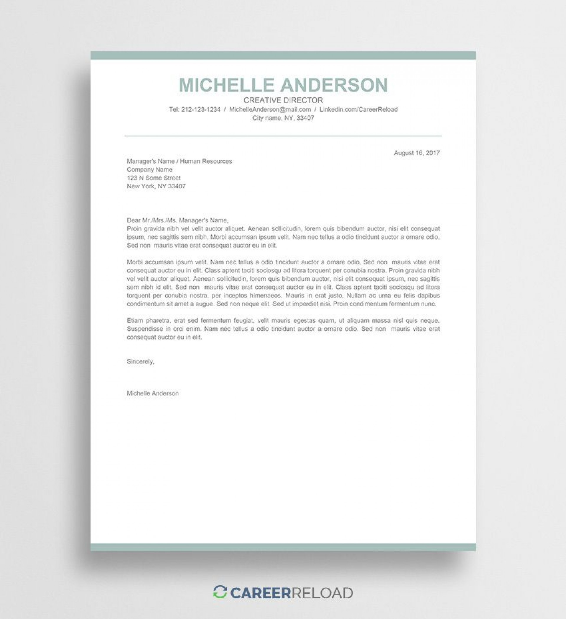 010 Fascinating Download Free Cover Letter Template Word Idea  Microsoft Document Modern1920