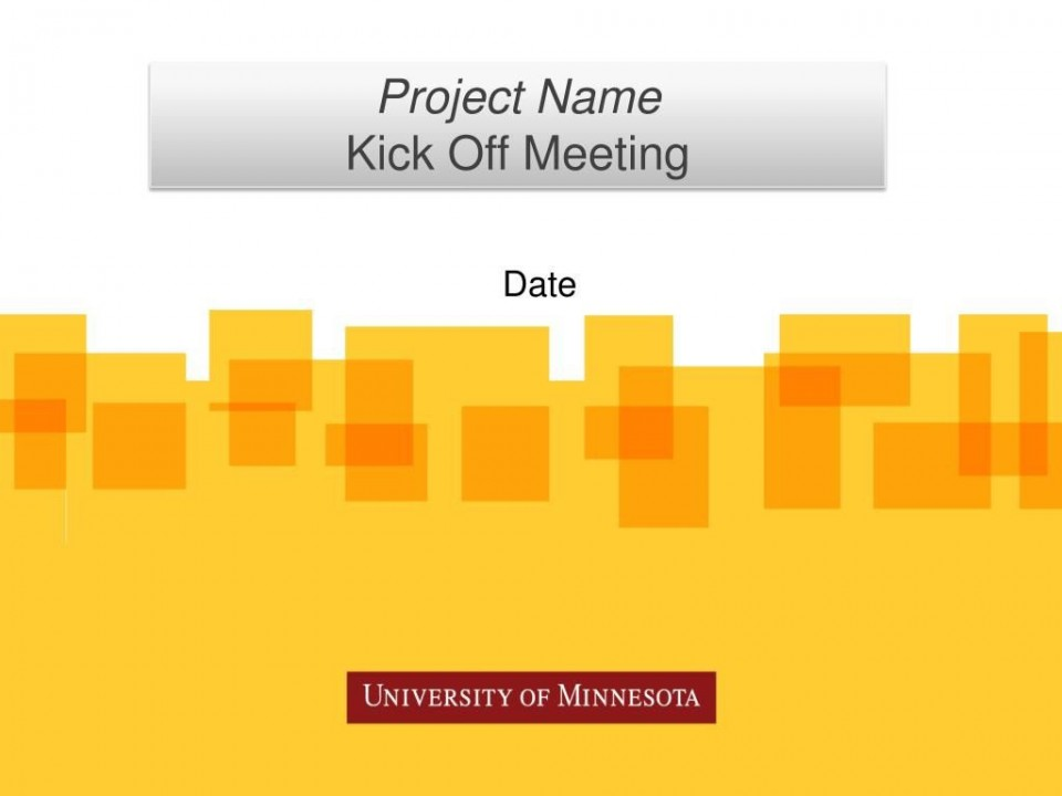 010 Fascinating Project Kickoff Meeting Powerpoint Template Ppt High Def  Kick Off Presentation960