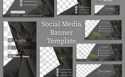 010 Fascinating Social Media Banner Template Free Highest Quality