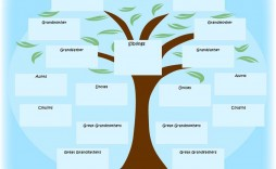 010 Fearsome Family Tree Book Template Free High Definition  History